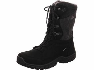 Lico Women's Maike Snow Boots Grey Anthrazit/Orange 3.5 UK