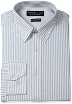 Nick Graham Men's Stripe Cotton Dress Shirt