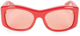 Balenciaga 59MM Acetate Modified Square Sunglasses