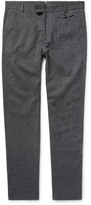 Oliver Spencer - Cotton And Wool-blend Trousers