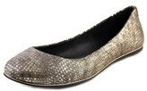 Dolce Vita Bex Women Round Toe Leather Flats.