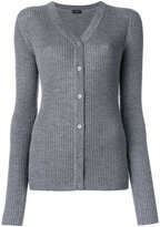 Joseph V-neck ribbed cardigan