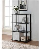 notool assembly 6cube storage unit black