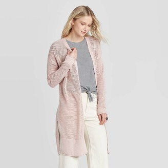 Universal Thread Women's Open Stitch Cardigan - Universal ThreadTM