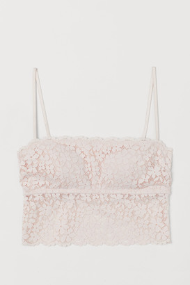 H&M Lace Bra Top