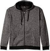 Southpole Men's Big and Tall Hooded Full Zip Fleece Basic Marled