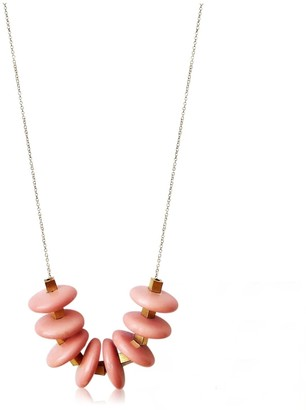 Daixa Somed Lacasitos Necklace - Ceramic and Gold