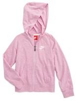Nike Toddler Girl's Vintage Zip Hoodie