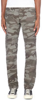True Religion Geno Moto Relaxed-fit Tapered Cotton Trousers