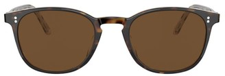 Oliver Peoples Finley Vintage 49MM Round Sunglasses