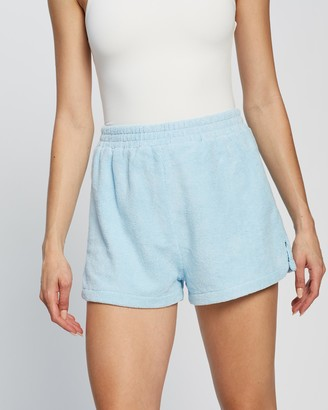 Dazie - Women's Blue High-Waisted - Timmy Terry Shorts - Size 6 at The Iconic