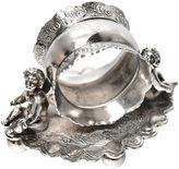One Kings Lane Vintage 19th-C. Twin Cherubs Napkin Ring