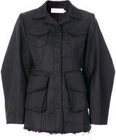 Marques Almeida Marques'almeida cocoon sleeve frayed jacket