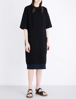Joseph Bonded wool and cashmere-blend dress