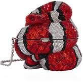 Judith Leiber Snake Clutch Bag
