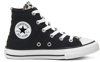 Converse Kids Chuck Taylor All Star Archive Cheetah Hi Trainers
