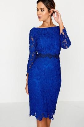 Paper Dolls Blue Bodycon Dress