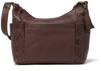 The Sak COLLECTIVE Keira Embossed Leather Hobo