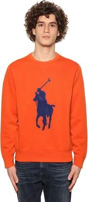 Polo Ralph Lauren Maxi Pony Patch Cotton Blend Sweatshirt