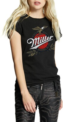Recycled Karma Miller Roll Up Sleeve Graphic Tee
