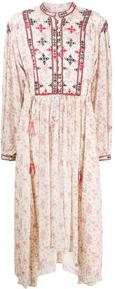 Etoile Isabel Marant Inesia embroidered dress
