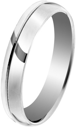 Orphelia Unisex Silver Wedding Ring - OR9996/3/A1/52