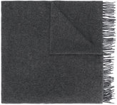A.P.C. fringed knitted scarf