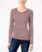 Charter Club Striped Top, Only at Macy's