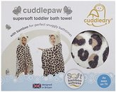 Cuddledry snow leopard kids hooded towel - Cuddlepaw by