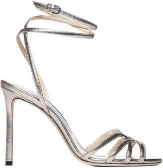 Jimmy Choo Platinum Sandals