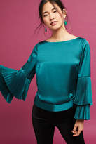 Plenty by Tracy Reese Pleated-Sleeve Blouse