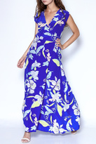 Yumi Kim Floral Silk Maxi Dress