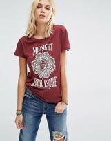 Billabong T-Shirt With Midnight Beach Escape Print