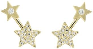 Kamaria Double Star Diamond Studs