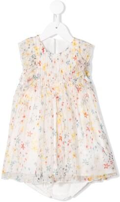 Stella McCartney floral print ruffled dress