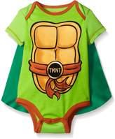 Teenage Mutant Ninja Turtles Baby Bodysuit with Cape