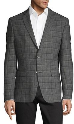 Versace Plaid Sport Jacket