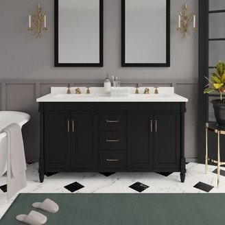 "Martha Stewart Skylands Highfield 60"" Double Bathroom Vanity Set"