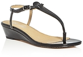 Splendid Justin T-Strap Thong Demi Wedge Sandals
