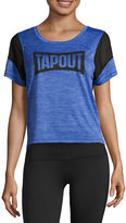 Tapout Scoop Neck Graphic T-Shirt