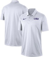 Nike Men's White LSU Tigers Franchise Performance Polo