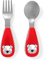 Skip Hop Zootensils Fork and Spoon-Dalmatian