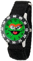 Sesame Street Stainless Steel Time Teacher Watch - Black