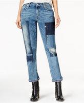 Tommy Hilfiger Rena Patchwork Wash Boyfriend Jeans, Only at Macy's