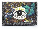 Kenzo Printed Nylon & Leather Change Wallet