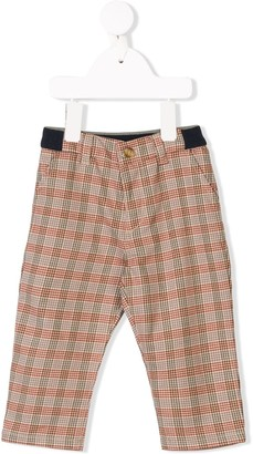Knot Classic Check Trousers