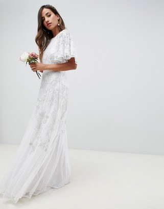 Asos Edition EDITION floral applique wedding dress