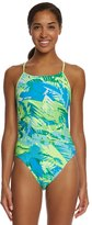 Nike Women's Tropic CutOut Tank One Piece Swimsuit - 8150548