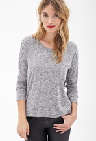 Forever 21 Contemporary Crochet-Trimmed Top