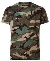 Valentino Outline Camo Print T-shirt